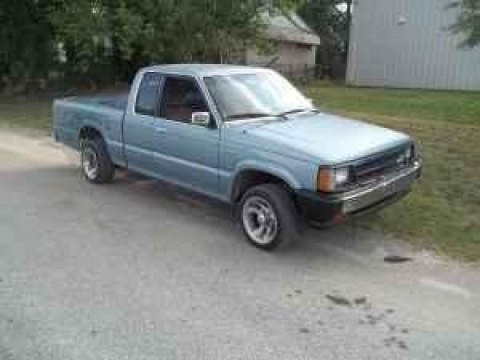 1987 Mazda B-Series Truck B2000 Regular Cab in Ondo Blue Metallic
