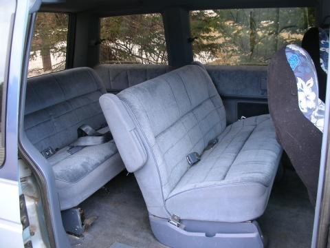 1989 Plymouth Voyager LE in Ice Blue Metallic