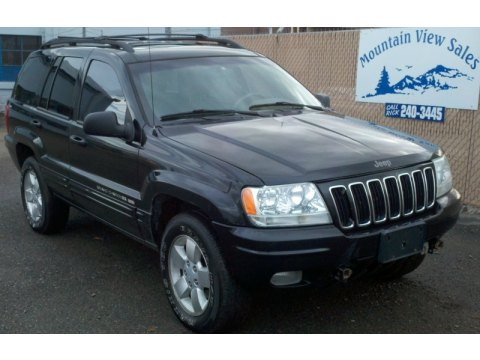 2001 Jeep Grand Cherokee Limited 4x4 in Black