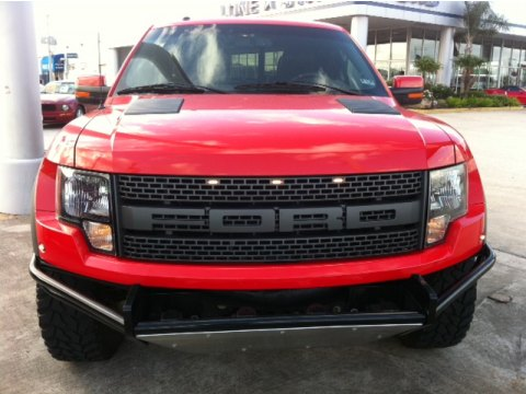2010 Ford F150 SVT Raptor SuperCab 4x4 in Molten Orange Tri Coat