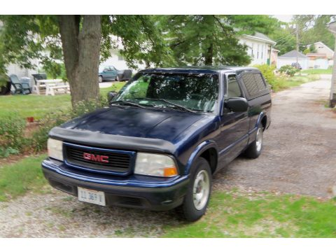 1999 GMC Sonoma SLS Regular Cab in Indigo Blue Metallic