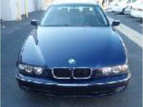1998 BMW 5 Series 528i Sedan in Dark Blue