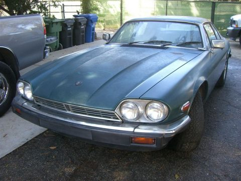 1985 Jaguar XJ S in Green