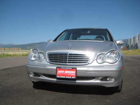 2003 Mercedes-Benz C 240 4Matic Sedan in Pewter Silver Metallic