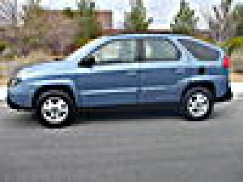 2002 Pontiac Aztek AWD in Steel Blue Metallic