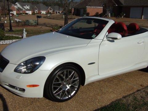 2007 Lexus SC 430 Pebble Beach Edition in Starfire White Pearl