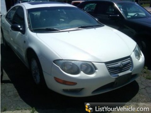 2000 Chrysler 300 M Sedan in Stone White