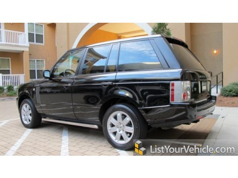 2006 Land Rover Range Rover HSE in Java Black Pearl