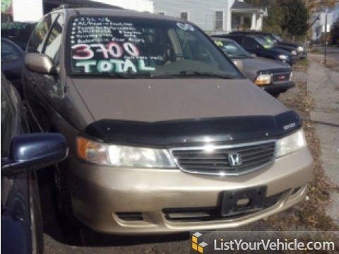 2000 Honda Odyssey EX in Mesa Beige Metallic