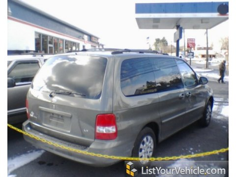 2005 Kia Sedona LX in Sage Green Metallic