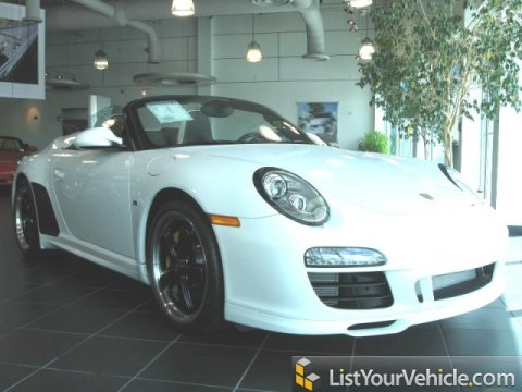 2011 Porsche 911 Speedster in Carrara White