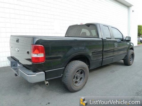 2007 Ford F150 XLT SuperCab in Black