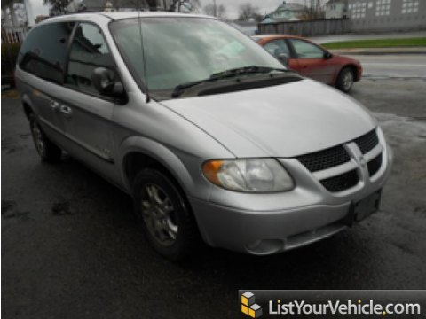 2001 Dodge Grand Caravan Sport in Bright Silver Metallic