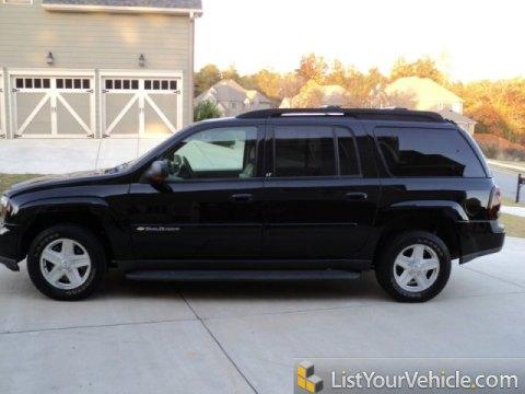 2003 Chevrolet TrailBlazer EXT LT in Black