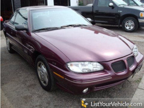 1996 Pontiac Grand Am SE Coupe in Medium Purple Metallic