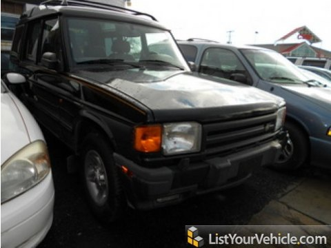 1998 Land Rover Discovery LE in Beluga Black