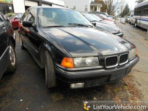 1994 BMW 3 Series 325i Sedan in Black