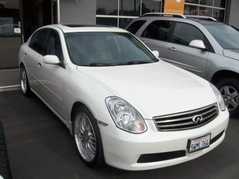 2006 Infiniti G 35 Sedan in Ivory White Pearl