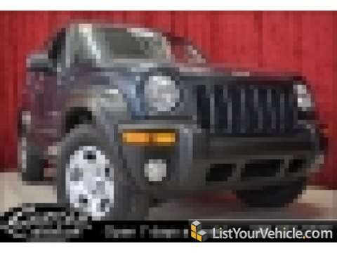 2002 Jeep Liberty Sport in Patriot Blue Pearlcoat