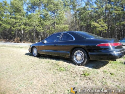 1995 Lincoln Mark VIII  in Black
