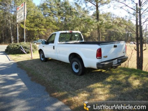 2000 Ford F250 Super Duty XL Regular Cab in Oxford White