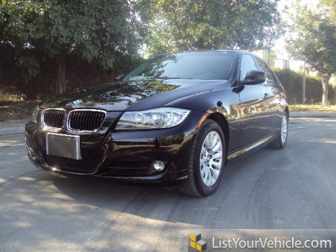2009 BMW 3 Series 328i Sedan in Jet Black