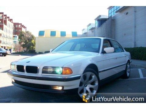1998 BMW 7 Series 740iL Sedan in Alpine White III