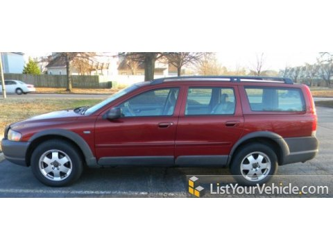 2001 Volvo V70 XC AWD in Venetian Red