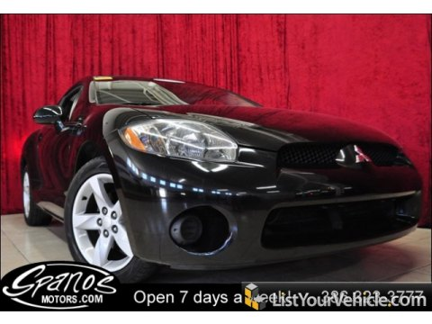2006 Mitsubishi Eclipse GS Coupe in Kalapana Black