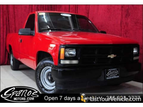 1992 Chevrolet C/K C1500 Regular Cab in Victory Red