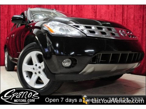 2004 Nissan Murano SL in Super Black