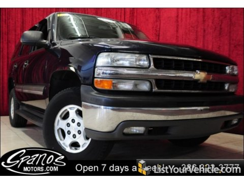2004 Chevrolet Tahoe LS in Dark Blue Metallic