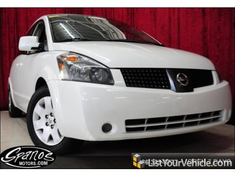 2004 Nissan Quest 3.5 S in Nordic White Pearl