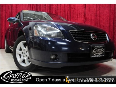 2005 Nissan Altima 3.5 SL in Majestic Blue Metallic