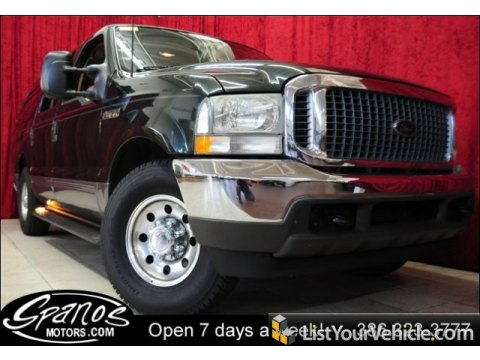 2003 Ford Excursion XLT in Aspen Green Metallic