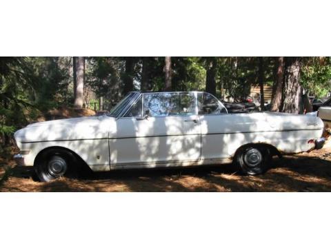 1963 Chevrolet Chevy II Nova Convertible in White