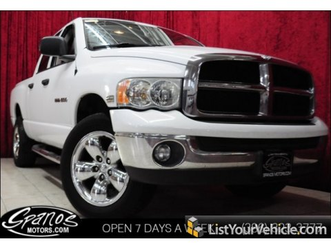 2004 Dodge Ram 1500 SLT Quad Cab 4x4 in Bright White