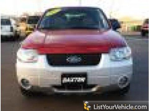2005 Ford Escape Hybrid 4WD in Redfire Metallic