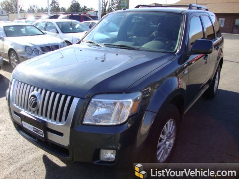 2009 Mercury Mariner Premier in Sterling Grey Metallic