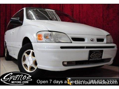 1999 Oldsmobile Silhouette Premier in Arctic White