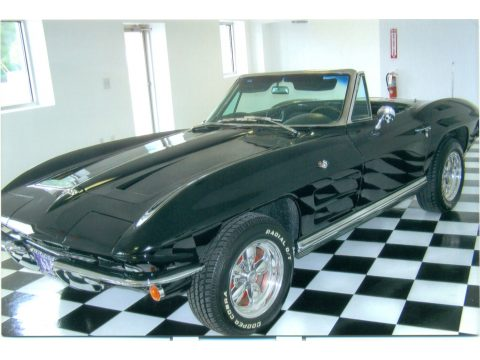 1964 Chevrolet Corvette Sting Ray Convertible in Tuxedo Black