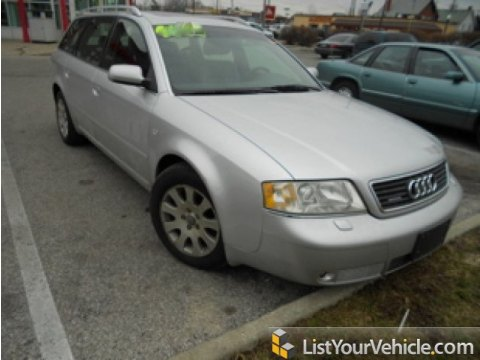 2001 Audi A6 2.8 quattro Avant in Light Silver Metallic