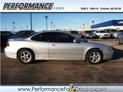 2002 Pontiac Grand Prix GT Coupe in Galaxy Silver Metallic