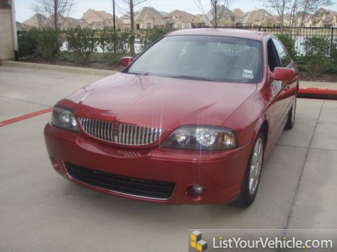 2005 Lincoln LS V8 in Vivid Red Metallic