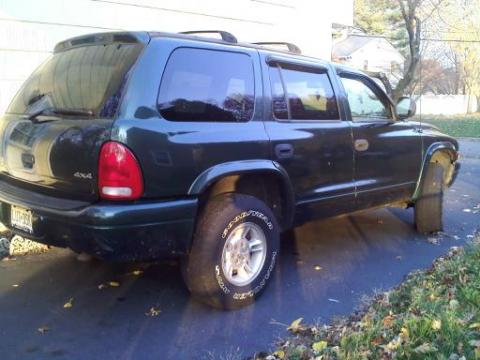 1998 Dodge Durango SLT 4x4 in Forest Green Metallic