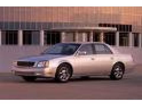2003 Cadillac DeVille DTS in Thunder Gray