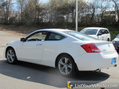 2012 Honda Accord EX-L V6 Coupe in Taffeta White