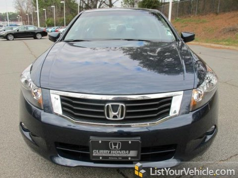 2010 Honda Accord EX-L V6 Sedan in Royal Blue Pearl