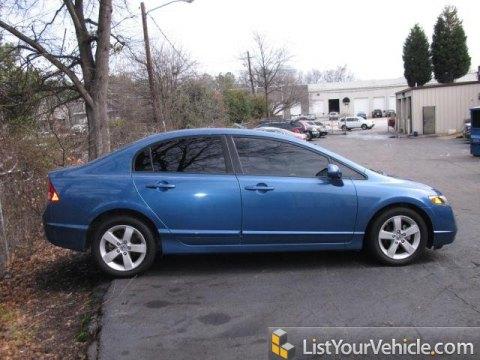 2008 Honda Civic EX Sedan in Atomic Blue Metallic