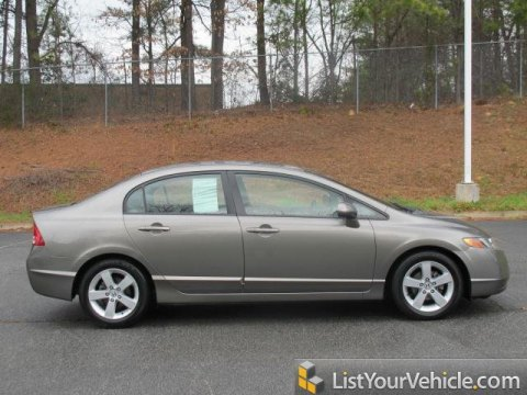2007 Honda Civic EX Sedan in Borrego Beige Metallic